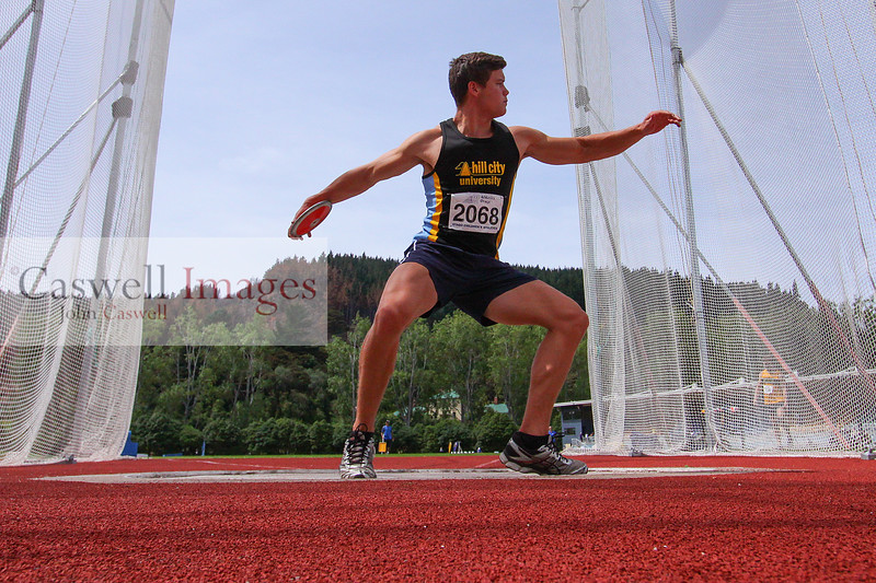 Athletics Otago Track and Field meeting (February 11th 2017)