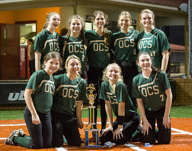 2017 OCS Middle School Softball