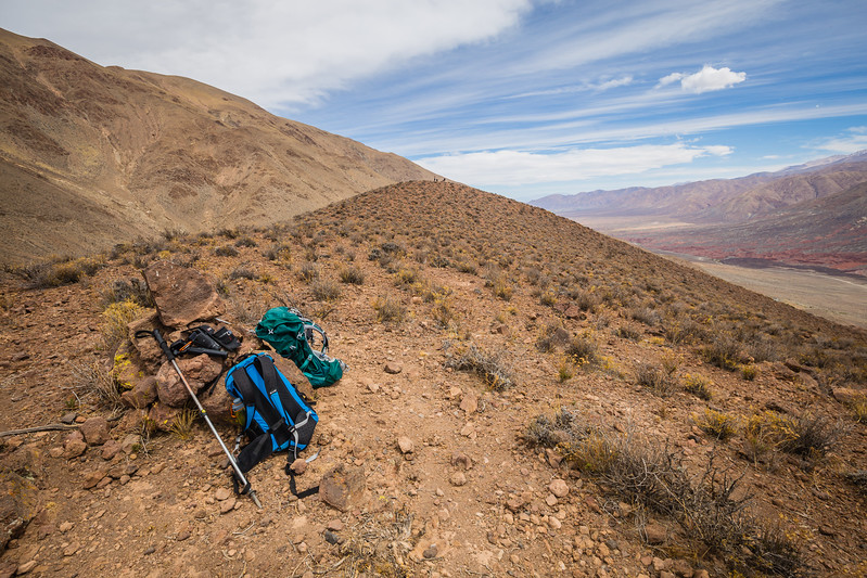 Backpacks on hiking trail in Argentina - Best Ultralight Backpacking Gear