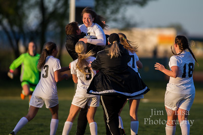 CCS Girls Soccer vs. Elgin, April 1