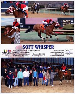 SOFT WHISPER - 1/26/2014