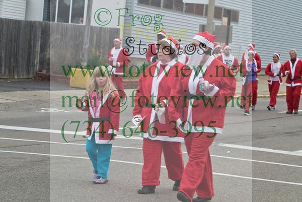Flint YMCA Santa Run 1 Dec 2012