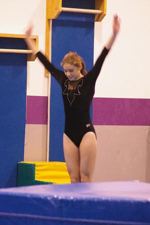 Gymnastics Meet 12/1/08