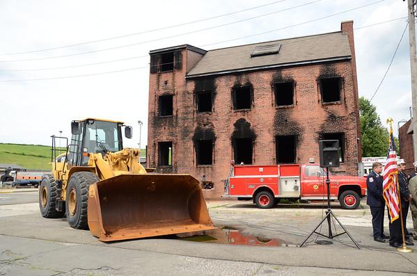 Nassau County Fire Service Academy Demolition