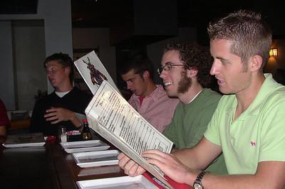 2005-10-22 - Stickman Dinner