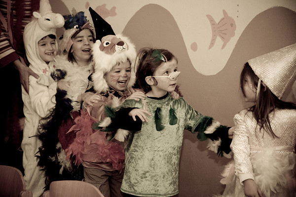 Faschingsfest im Kindergarten