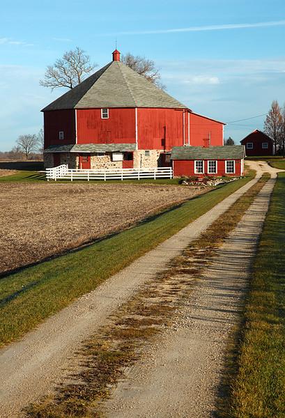 Round Barn - Jackson Township