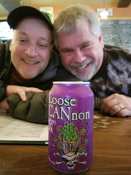 Fun in the Spring Creek Tavern on Sunday night