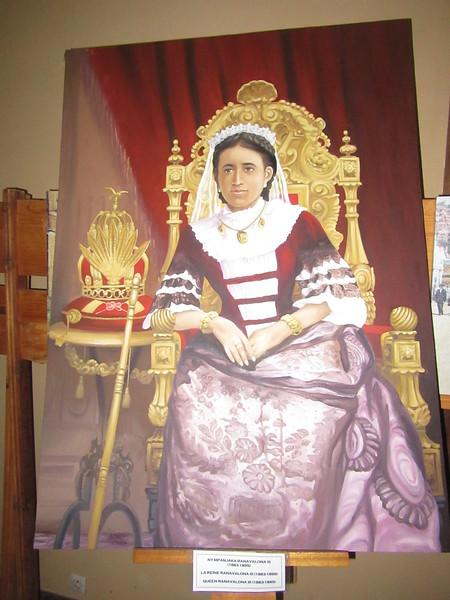 021_Antananarivo. The Rova. Queen Ranavalona III. 1883-1895.JPG