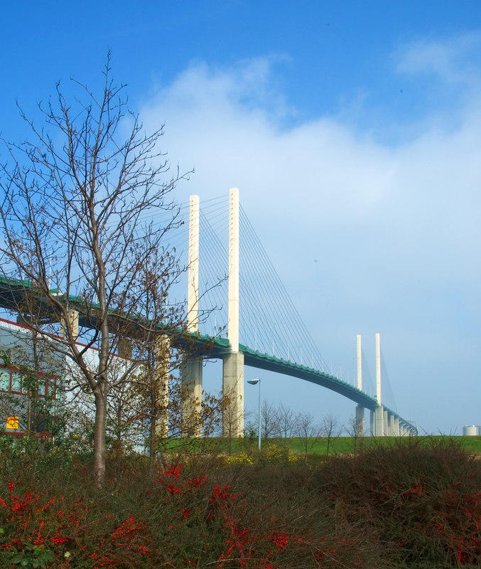 QE2 Bridge - Dartford, Kent