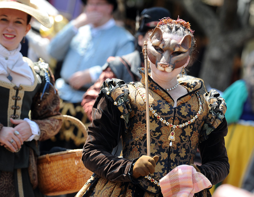 . Opening day of the Renaissance Pleasure Faire at Santa Fe Dam Recreation Area in Irwindale, Calif., on Saturday, April 5, 2014. 