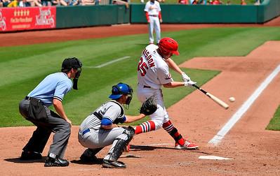 Springfield Cardinals v Tulsa Drillers 5 May 2014