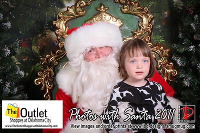 Outlet Shoppes at OKC Santa Photos 11-27-11
