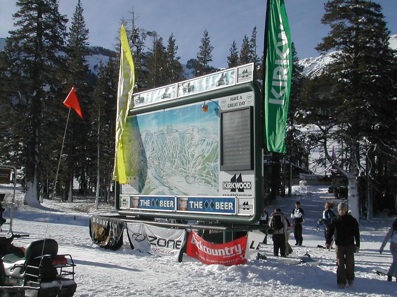 Kirkwood Ski Resort, Lake Tahoe, California