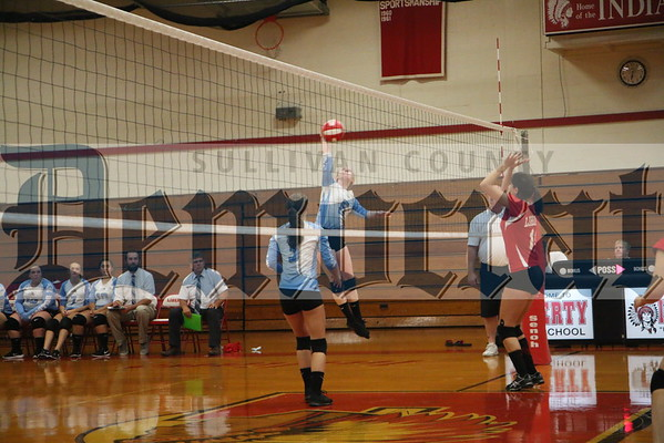Liberty vs SW volleyball