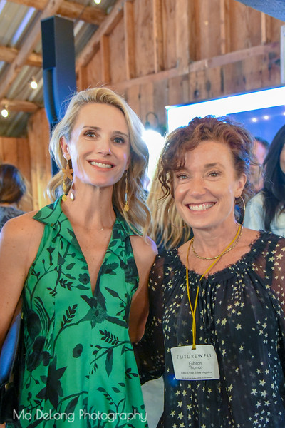 Jennifer Siebel Newsom and Gibson Thomas