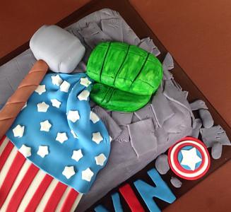 All Hero Cake
