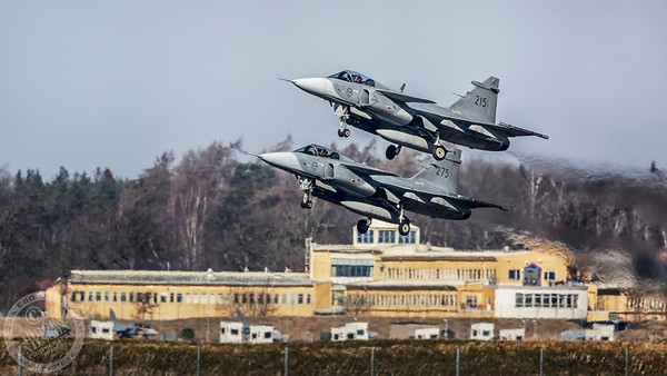 F 7 Wing Såtenäs, March 2020