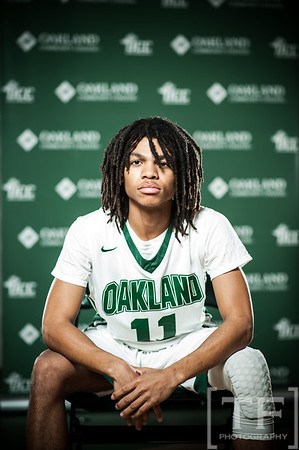 Oakland CC Portrait Day: MBB 2016/2017