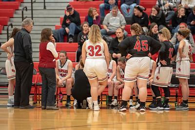 SVHS Girl's Basketball  vs  Liberty