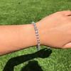 9.50ctw Round Brilliant Diamond Tennis Bracelet 29