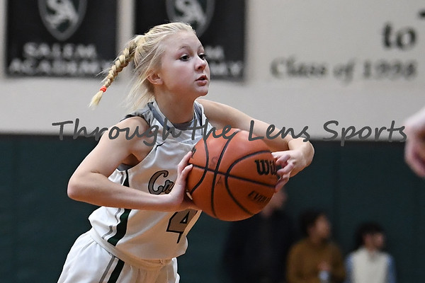 Salem Academy  vs. St. Paul Girls HS Basketball