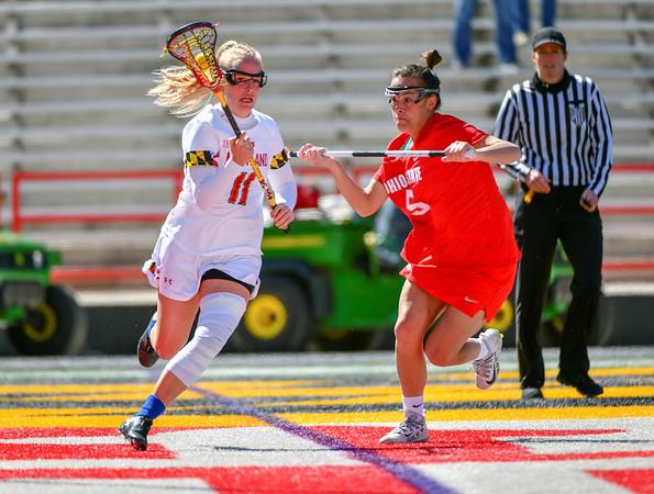 20190316 Women's College Lacrosse Ohio State at UMD