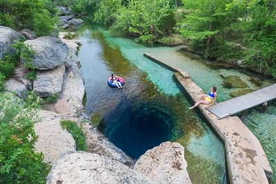 Wimberley: Jacob's Well & Blue Hole