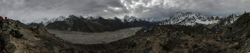 The View From Gokyo Ri - 17,575'