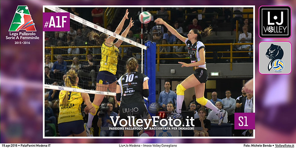 Liu•Jo Modena - Imoco Volley Conegliano   S1 #PlayOff #MGSVolleyCup #A1F