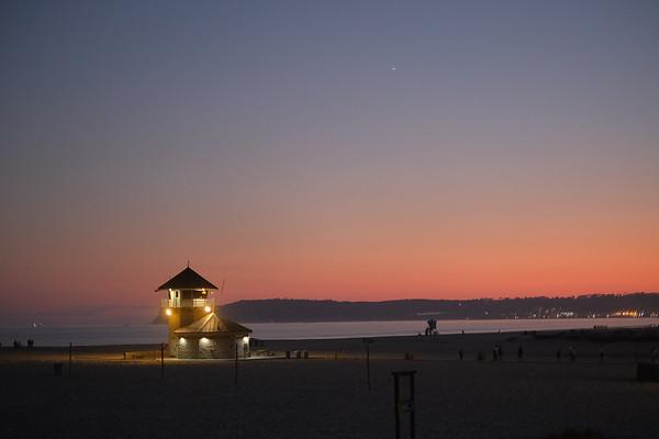 Coronado at Sunset