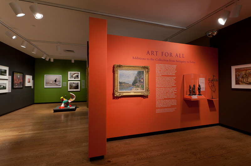 Art For All Exhibit. Mead Art Museum. 2013