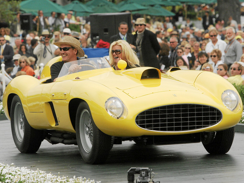 1955 Ferrari 410 Scaglietti Sport Spyder owned by Lawrence Bowman from Redwood City 1st Class M-2 (Ferrari Competition)