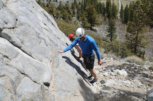 Rock Climbing Training June 3-4, 2010