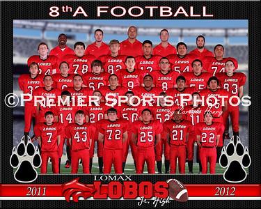 2011 Lomax Junior High 8th Grade Football