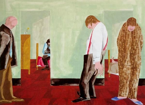 "Jacob Lawrence, ""Depression"" (1950)"