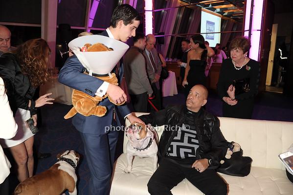 Joseph Salvatore Pidoriano, Spartacus, and Ice T photo by Rob Rich/SocietyAllure.com © 2014 robwayne1@aol.com 516-676-3939
