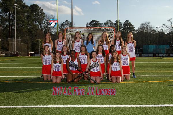 2017 Girls JV  Lacrosse