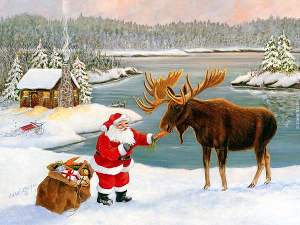Christmas Card Art