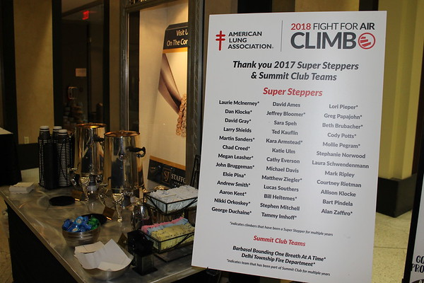 2018 Fight for Air Climb