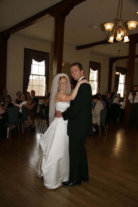Tupper-Jackson Wedding; June 25, 2005