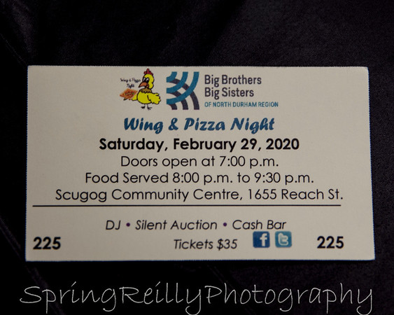2020 BB/BS Wing and Pizza Night