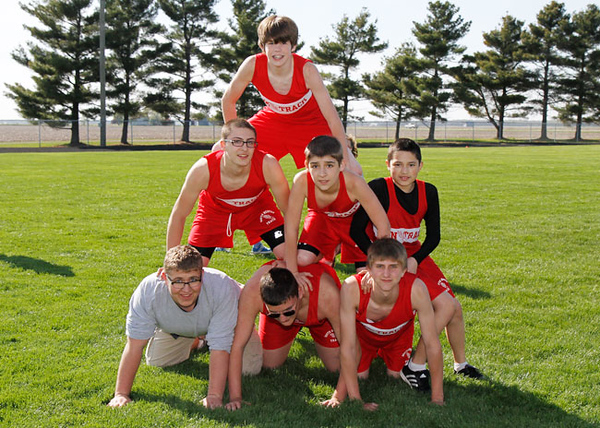 SNMS Track Team 2011