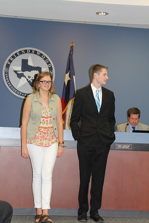 Honors at May 13 Board Meeting