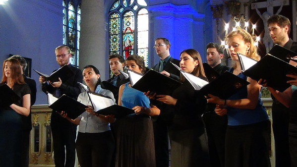 Tenso Europe Chamber Choir 2014 Sigulda
