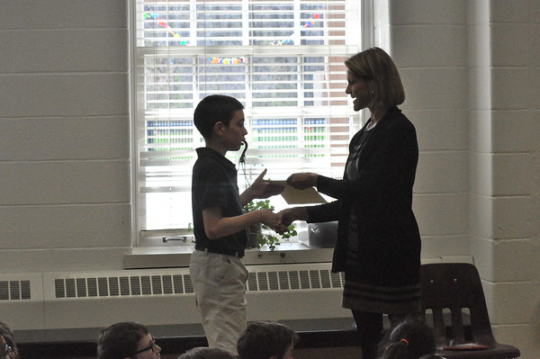 Writing Contest Awards and Book Assembly