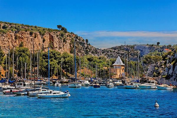 Les calanques de Marseille - cabanons