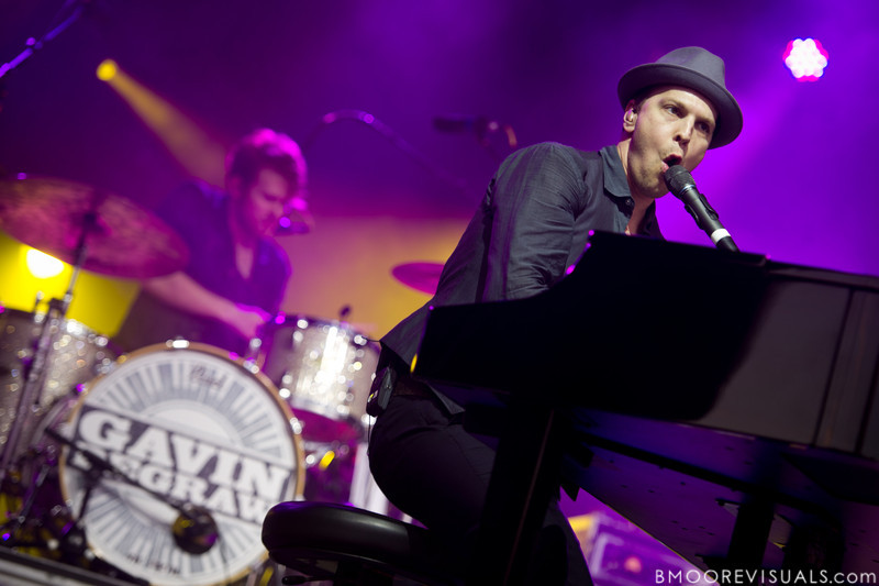"""Ian O'Neill and Gavin DeGraw perform on November 12, 2011 during """"Orlando Calling 2011"""" at The Citrus Bowl in Orlando, Florida"""