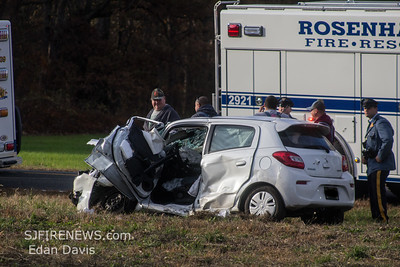 11/10/2019, MVC with Entrapment, Deerfield Twp. Cumberland County NJ, Kenyon Ave. and Lebanon Rd.