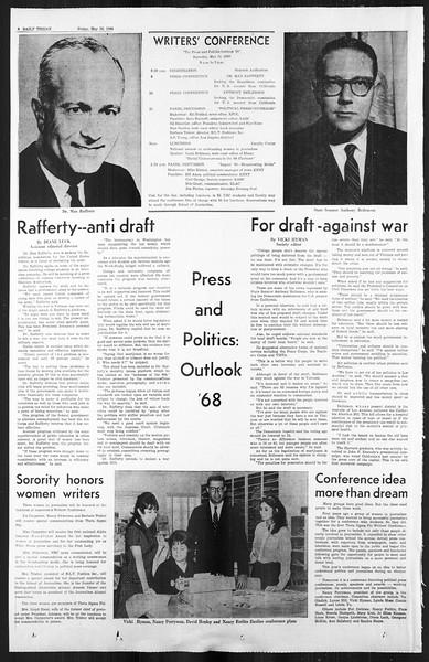 Daily Trojan, Vol. 59, No. 123, May 10, 1968